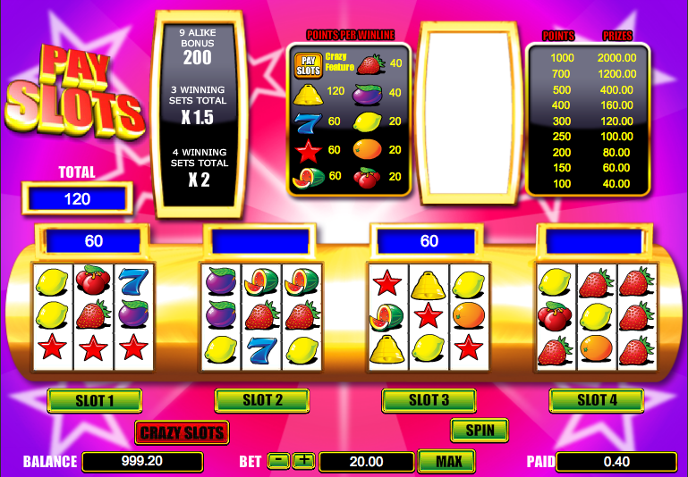 Get Crazy Feel With Cash Crazy Slot